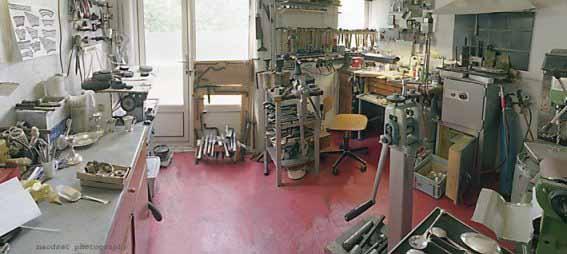 atelier zilversmederij